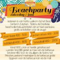 Beachparty met BBQ